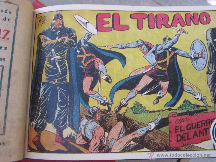 Tebeos: el guerrero del antifaz completa , encuadernada en 19 tomos , original , valenciana - Foto 19 - 53953620