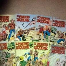 Tebeos: EL PEQUEÑO LUCHADOR - LOTE 10 COMICS (Nº1 AL Nº 10) - AÑO 1977. Lote 54014037
