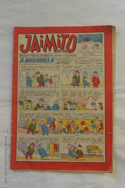 Nº 672 REVISTA PARA JOVENES JAIMITO (Tebeos y Comics - Valenciana - Jaimito)