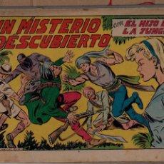 Tebeos: ED.VALENCIANA. EL HIJO DE LA JUNGLA. Nº 22 (ORIGINAL) VALENCIA 1956. Lote 54026171