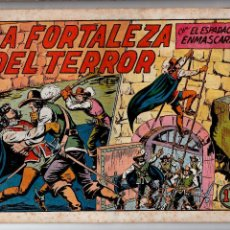 Tebeos: ED.VALENCIANA. EL ESPADACHIN ENMASCARADO. Nº 21 (ORIGINAL) VALENCIA 1952-1957. Lote 54027195
