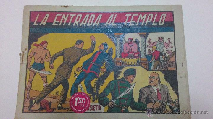ROBERTO ALCAZAR Y PEDRIN - LA ENTRADA DEL TEMPLO (Tebeos y Comics - Valenciana - Roberto Alcázar y Pedrín)
