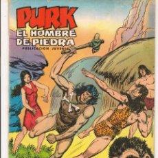 Tebeos: PURK. EL HOMBRE DE PIEDRA. Nº 18. DAMULA HUYE. SELECCIÓN AVENTURA EDIVAL 1976. (C/A44). Lote 54125723