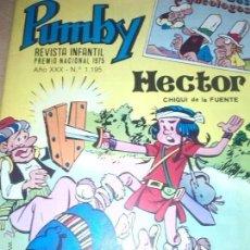 Tebeos: PUMBY Nº 1195 HECTOR CHIQUI DE LA FUENTE LOS ARQUEOLOGOS AÑO 1975. Lote 54118795