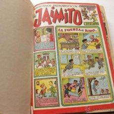 Tebeos: TOMO ENCUADERNADO CON 30 COMICS DE JAIMITO. EDITORIAL VALENCIANA. 1,20 PESETAS. Lote 54152636