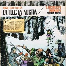 Tebeos: CÓMIC LA FLECHA NEGRA Nº 7 DINO BATTAGLIA. Lote 54215294