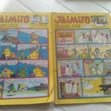 Tebeos: 2 TEBEO-COMICS JAIMITO N'1108-1115 AÑO 1971. Lote 54223792