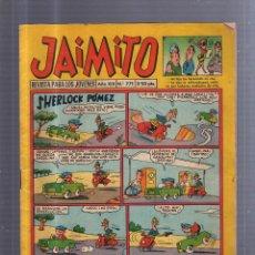 Tebeos: JAIMITO. REVISTA PARA LOS JOVENES. AÑO XIX. Nº 771. SHERLOCK POMEZ. Lote 54498185