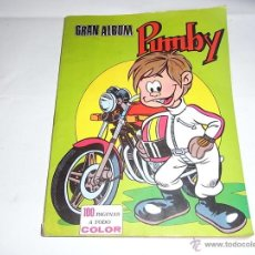 Tebeos: GRAN ALBUM PUMBY, ED. VALENCIANA. Lote 54291509