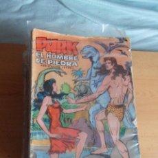 Tebeos: LOTE COMPLETO DE PURK EL HOMBRE DE PIEDRA. 114 NUMEROS.. Lote 54321735