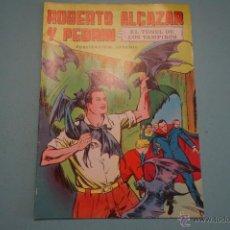 Tebeos: CÓMIC DE:ROBERTO ALCAZAR Y PEDRIN,EL TUNEL DE LOS VAMPIROS,Nº 5,AÑO 1976,DE EDIVAL,LOTE 10. Lote 54330820