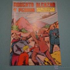 Tebeos: CÓMIC DE:ROBERTO ALCAZAR Y PEDRIN,LA PRIMERA VICTIMA,Nº 4,AÑO 1976,DE EDIVAL,LOTE 10. Lote 54330839