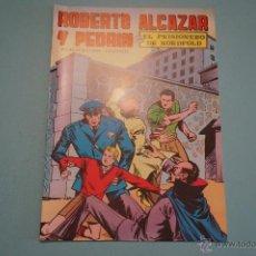 Tebeos: CÓMIC DE ROBERTO ALCAZAR Y PEDRIN EL PRISIONERO DE NORDFOLD Nº 2 AÑO 1976 DE EDIVAL LOTE 10. Lote 54330861