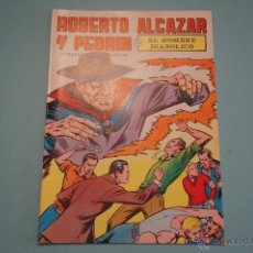 Tebeos: CÓMIC DE ROBERTO ALCAZAR Y PEDRIN EL HOMBRE DIABOLICO Nº 1 AÑO 1976 DE EDIVAL LOTE 10. Lote 54330904