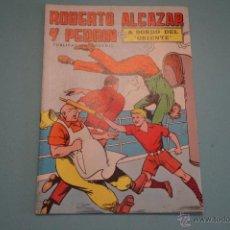 Tebeos: CÓMIC DE:ROBERTO ALCAZAR Y PEDRIN,A BORDO DEL ORIENTE,Nº 10,AÑO 1976,DE EDIVAL,LOTE 10. Lote 54331592