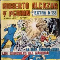 Tebeos: ROBERTO ALCAZAR Y PEDRIN. EXTRA Nº 23. Lote 54339276