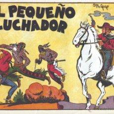 Tebeos: PEQUEÑO LUCHADOR Nº1. UN CLÁSICO DE MANUEL GAGO. REEDICIÓN. Lote 54417154