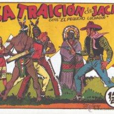 Tebeos: PEQUEÑO LUCHADOR Nº2. MANUEL GAGO. AUTOR DE EL GUERRERO DEL ANTIFAZ. REEDICIÓN . Lote 54417188