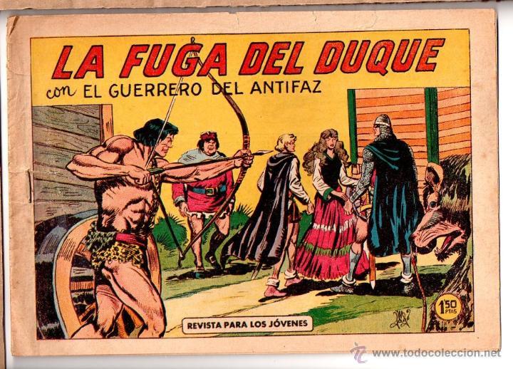 Nº 365 EL GUERRERO DEL ANTIFAZ, EDITORIAL VALENCIANA. CUADERNOS ORIGINALES (Tebeos y Comics - Valenciana - Guerrero del Antifaz)