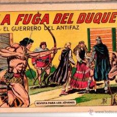 Tebeos: Nº 365 EL GUERRERO DEL ANTIFAZ, EDITORIAL VALENCIANA. CUADERNOS ORIGINALES. Lote 54470866