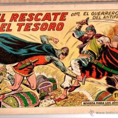 Tebeos: Nº 382 EL GUERRERO DEL ANTIFAZ, ED. VALENCIANA. CUADERNOS ORIGINALES. Lote 54470898