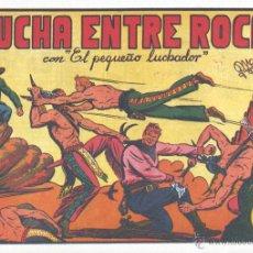 Tebeos: EL PEQUEÑO LUCHADOR Nº6. DIBUJOS DE MANUEL GAGO, AUTOR DE EL GUERRERO DEL ANTIFAZ. REEDICIÓN. Lote 54473020