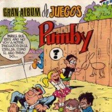 Tebeos: GRAN ALBUM DE JUEGOS PUMBY Nº 59, ED. VALENCIANA. Lote 54475712