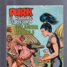 Tebeos: TEBEO PURK, EL HOMBRE DE PIEDRA. AVALANCHA TERRIBLE. Nº 40.. Lote 54486411