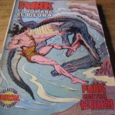 Tebeos - editorial valenciana. seleccion aventurera. purk, el hombre de piedra. num. 64. purk contra kurko - 54517295