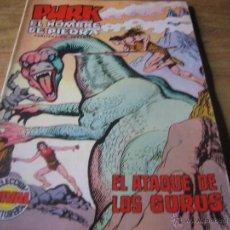 Tebeos: EDITORIAL VALENCIANA. SELECCION AVENTURERA. PURK, EL HOMBRE DE PIEDRA. NUM. 61. ATAQUE DE LOS GURUS. Lote 54517386