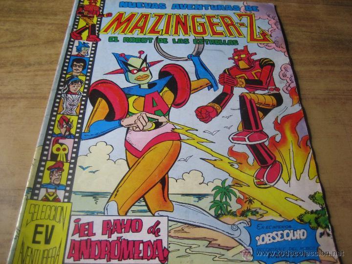 EDITORIAL VALENCIANA. SELECCION AVENTURERA. NUEVAS AVENTURAS DE MAZINGER-Z.- NUM. 137 (Tebeos y Comics - Valenciana - Selección Aventurera)