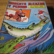 Tebeos: EDITORIAL VALENCIANA. ROBERTO ALCAZAR Y PEDRIN. NUM. 18. EL FINAL DEL TRIO MALDITO. Lote 54517991