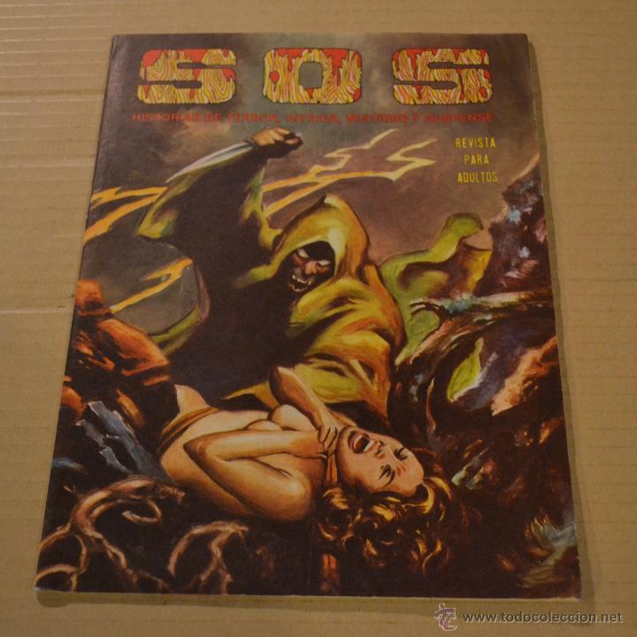 SOS, Nº 55. SEGUNDA EPOCA. VALENCIANA. LITERACOMIC. (Tebeos y Comics - Valenciana - S.O.S)