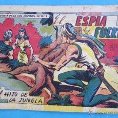 Tebeos: EL HIJO DE LA JUNGLA , NUMERO 50 , EL ESPIA DELFUERTE , GAGO VALENCIANA. Lote 147534412