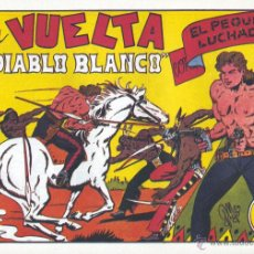 Tebeos: EL PEQUEÑO LUCHADOR Nº23. DIBUJOS DE MANUEL GAGO, AUTOR DE EL GUERRERO DEL ANTIFAZ. REEDICIÓN. Lote 54564111