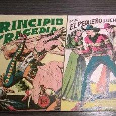 Tebeos: EL PEQUEÑO LUCHADOR - Nº52 - PRINCIPIO DE TRAGEDIA - AÑO 1961. Lote 54597793