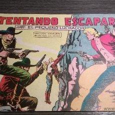 Tebeos: EL PEQUEÑO LUCHADOR - Nº60 - INTENTANDO ESCAPAR - AÑO 1961. Lote 54597872