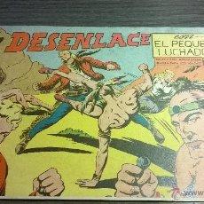 Tebeos: EL PEQUEÑO LUCHADOR - Nº72 - EL DESENLACE - AÑO 1962. Lote 54598020