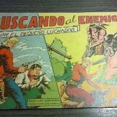 Tebeos: EL PEQUEÑO LUCHADOR - Nº73 - BUSCANDO AL ENEMIGO - AÑO 1962. Lote 54598029