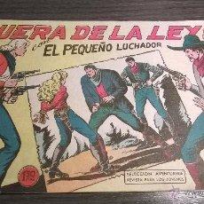 Tebeos: EL PEQUEÑO LUCHADOR - Nº83 - FUERA DE LA LEY - AÑO 1962. Lote 54598136