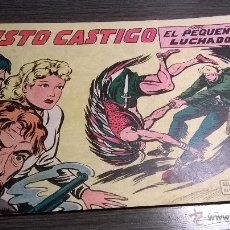 Tebeos: EL PEQUEÑO LUCHADOR - Nº95 - JUSTO CASTIGO - AÑO 1962. Lote 54598217