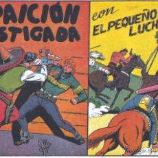 Tebeos: EL PEQUEÑO LUCHADOR Nº26. DIBUJOS DE MANUEL GAGO, AUTOR DE EL GUERRERO DEL ANTIFAZ. REEDICIÓN. Lote 54617359