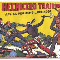 Tebeos: EL PEQUEÑO LUCHADOR Nº27. DIBUJOS DE MANUEL GAGO, AUTOR DE EL GUERRERO DEL ANTIFAZ. REEDICIÓN. Lote 54617519