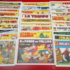 Tebeos: EL CAPITÁN CORAJE LOTE 28 NÚMEROS TORAY AMIGOS DE LA HISTORIETA. Lote 54628160