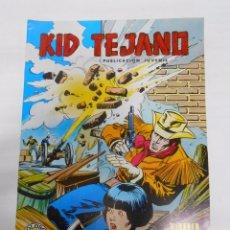 Tebeos: KID TEJANO Nº 16 EDITORIAL VALENCIANA. TODO UN TEJANO. COLOSOS DEL COMIC. TDKC8. Lote 54687870