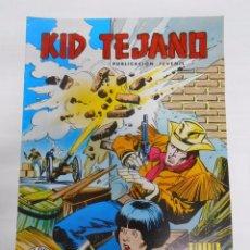 Tebeos: KID TEJANO Nº 16 EDITORIAL VALENCIANA. TODO UN TEJANO. COLOSOS DEL COMIC. TDKC8. Lote 54687881