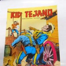 Tebeos: KID TEJANO Nº 15 EDITORIAL VALENCIANA. UN HOMBRE DEFIENDE SU VIDA. COLOSOS DEL COMIC. TDKC8. Lote 54687920