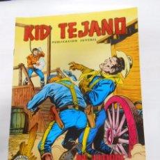 Tebeos: KID TEJANO Nº 15 EDITORIAL VALENCIANA. UN HOMBRE DEFIENDE SU VIDA. COLOSOS DEL COMIC. TDKC8. Lote 54687927