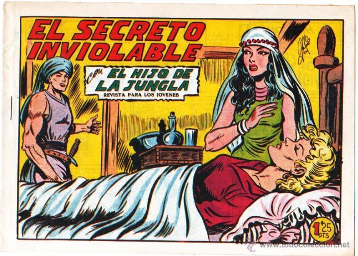EL HIJO DE LA JUNGLA ORIGINAL EDI. VALENCIANA LOTE DE 21 NºS, VER IMAGENES (Tebeos y Comics - Valenciana - Hijo de la Jungla)