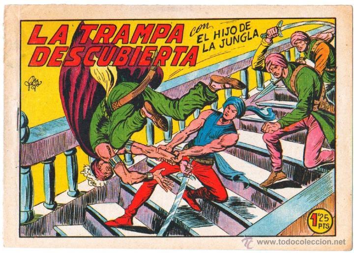 Tebeos: EL HIJO DE LA JUNGLA ORIGINAL EDI. VALENCIANA LOTE DE 21 NºS, VER IMAGENES - Foto 2 - 54698310